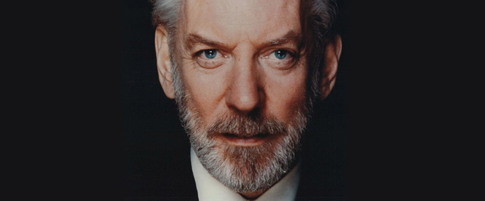 Lifetime Achievement Award: Donald Sutherland