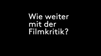 ZFF Talks: Wie weiter mit der Filmkritik?