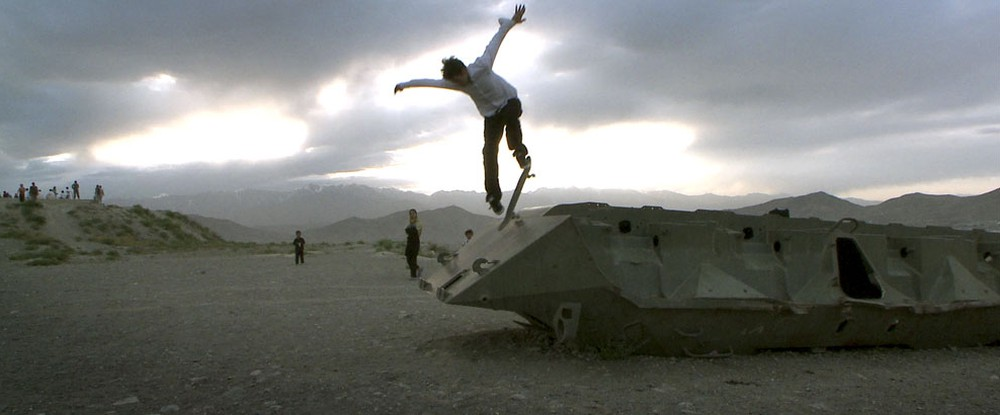 Skateistan - Four wheels and a Board in Kabul