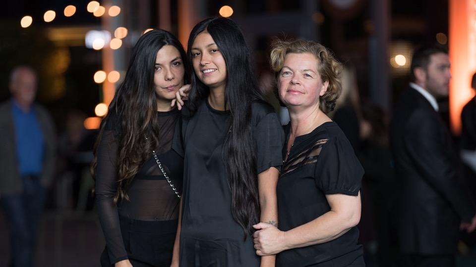 Regisseurin Laura Mora, Hauptdarstellerin Natasha Jaramillo und Produzentin Maja Zimmermann
