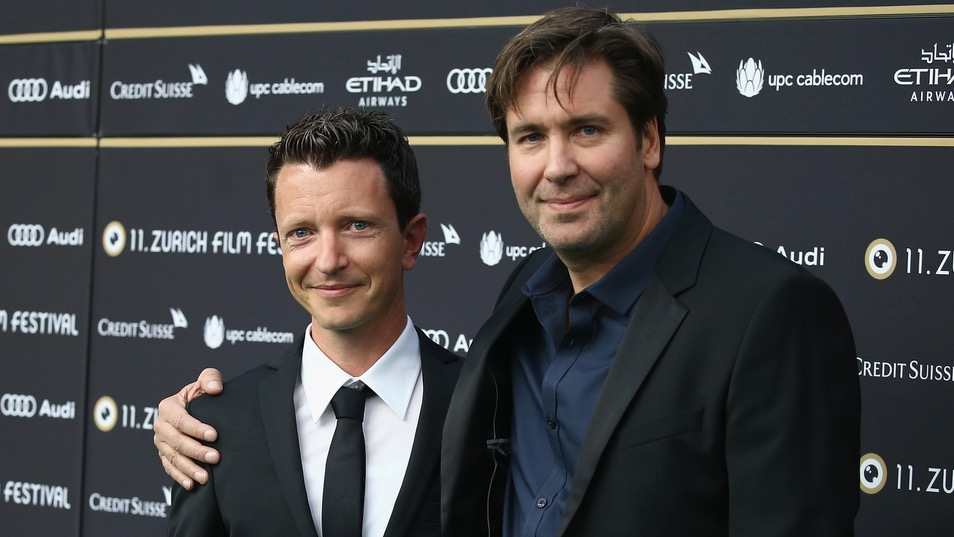Produzent Valentin Greutert und Regisseur Niklaus Hilber am ZFF 2015