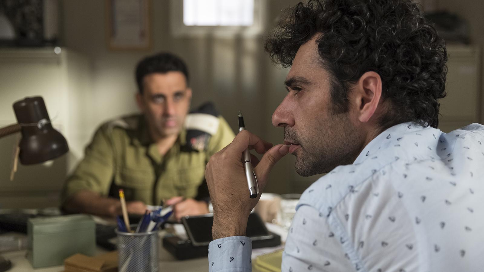 Kais Nashef (rechts) in TEL AVIV ON FIRE