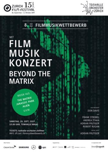 Plakat Filmmusikkonzert 2019