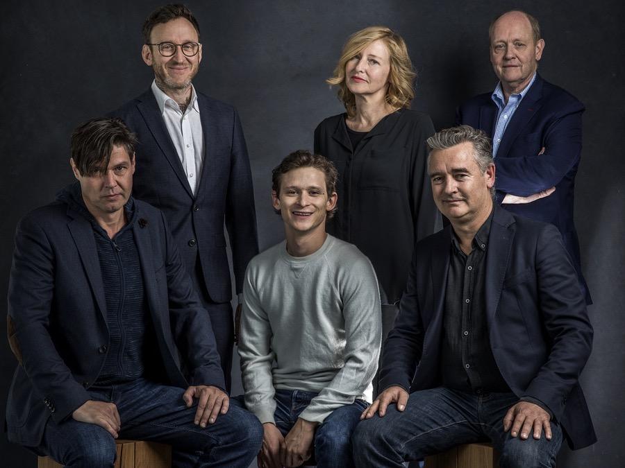 Michael Steiner mit Cast und Crew von WOLKENBRUCH
