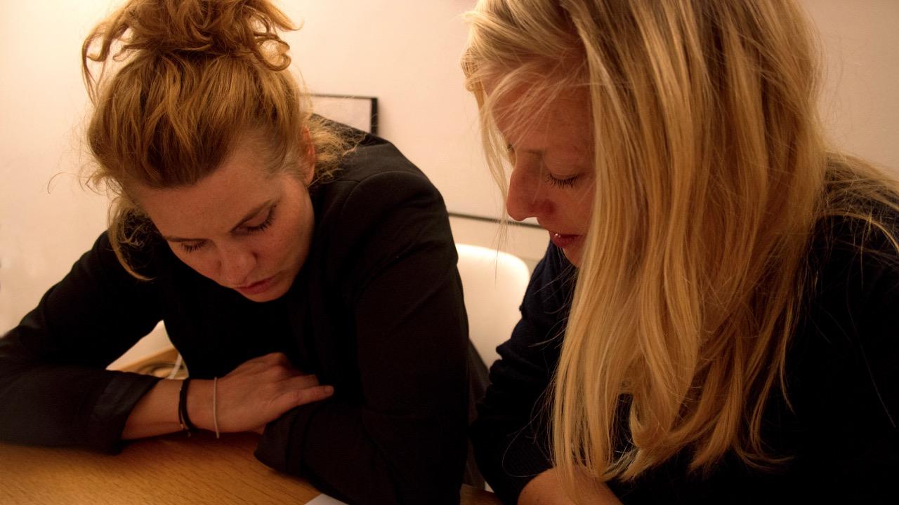 Reta Guetg und Iria Gutscher