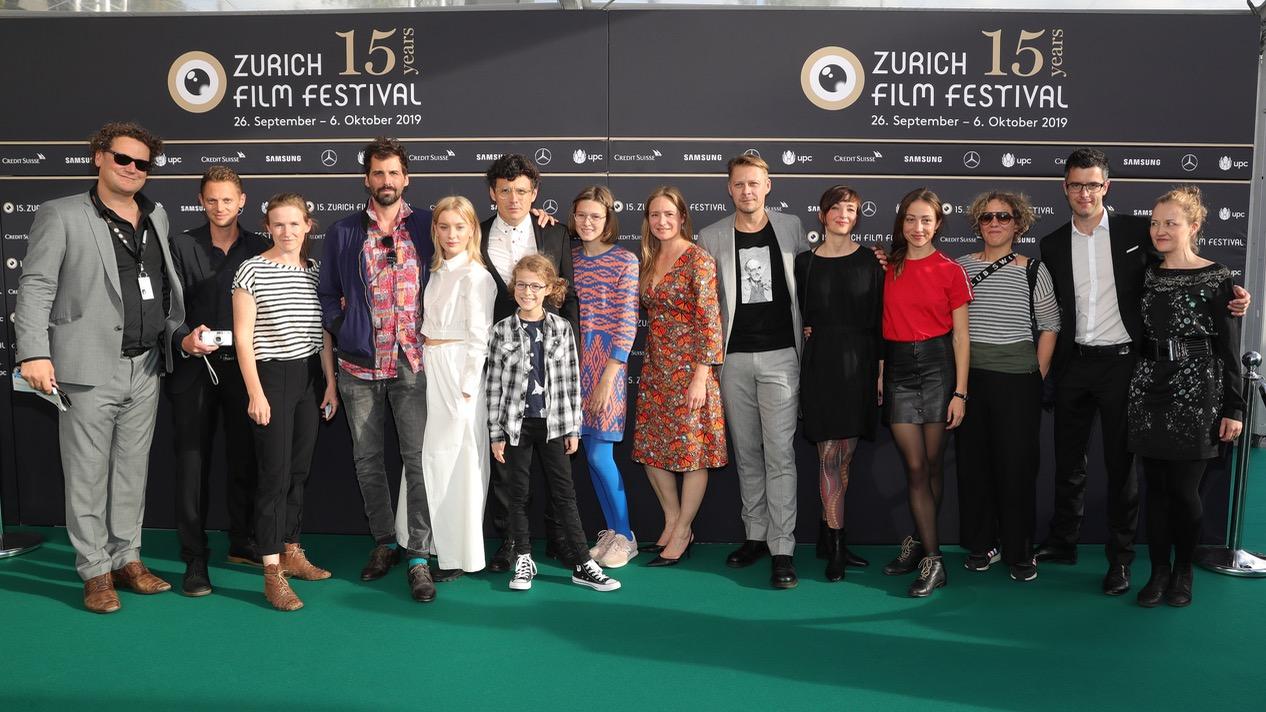 Cast und Crew von WAREN EINMAL REVOLUZZER am 15. ZFF (Bild: Getty Images)