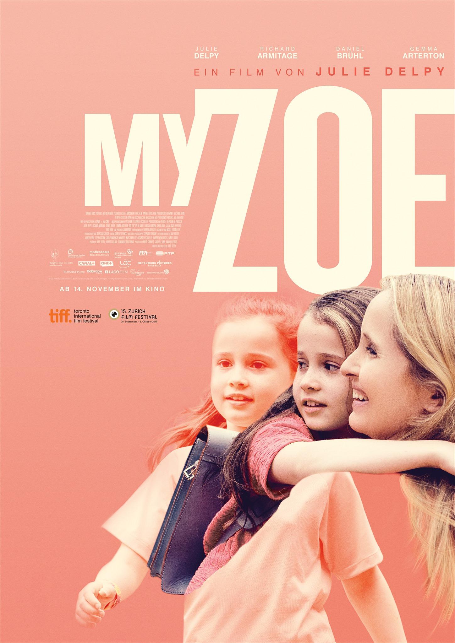 Poster MY ZOE von Julie Delpy