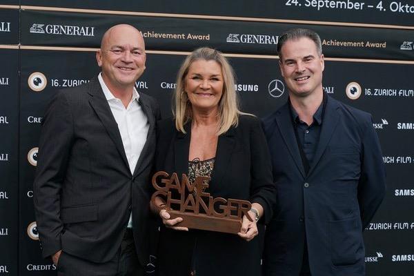 Ascot Elite Co-CEOs Ralph Dietrich, Karin Dietrich und Stephan Giger