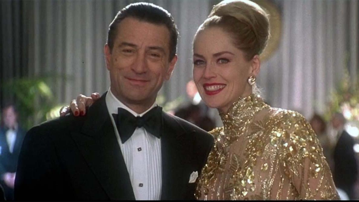 Sharon Stone with Robert De Niro in Martin Scorsese's CASINO (1995)